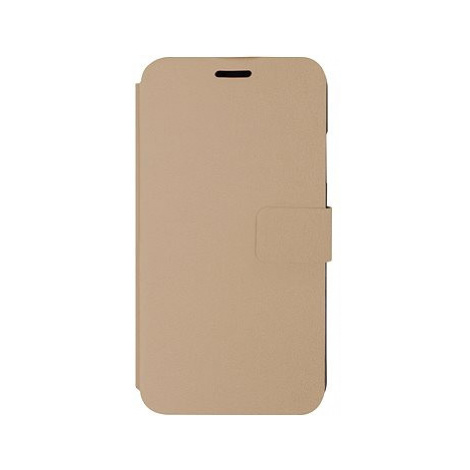 iWill Book PU Leather Case pro Apple iPhone Xr Gold