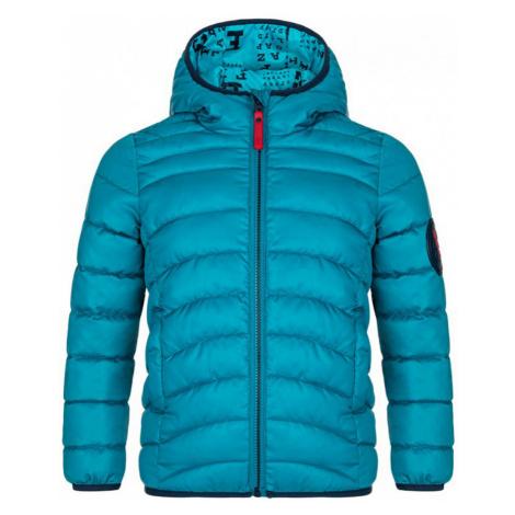 LOAP INUCON Dětská zimní bunda CLK2071M39M modrá
