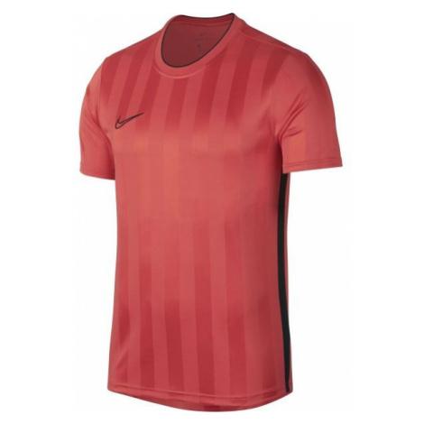 Nike BREATHE ACADEMY TOP SS GX2 růžová - Pánské sportovní triko