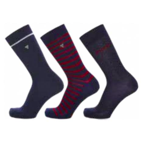 Guess pánské ponožky 3 pack P799 - Modrá