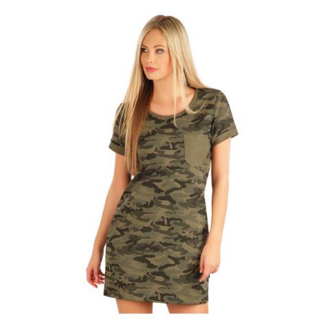 Dámské šaty Litex 58024 | zelená