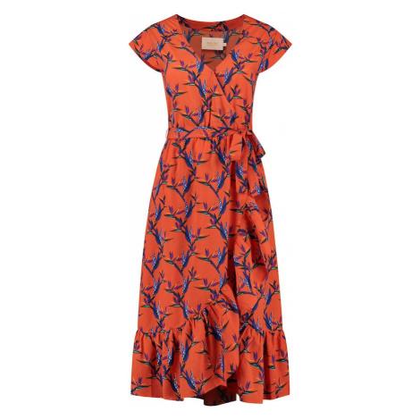 Shiwi Šaty oranžová / modrá / zelená / fialová