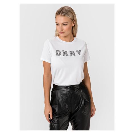 Triko DKNY Bílá