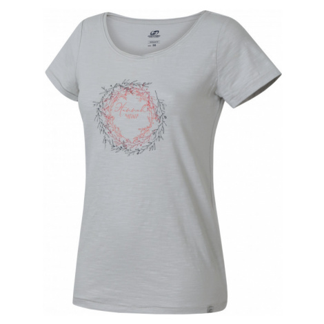 Dámské tričko Hannah Karmela glacier gray