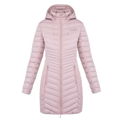 Loap JESMIN světle růžová - Dámský zimní kabát