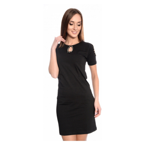 Černé šaty Elsa