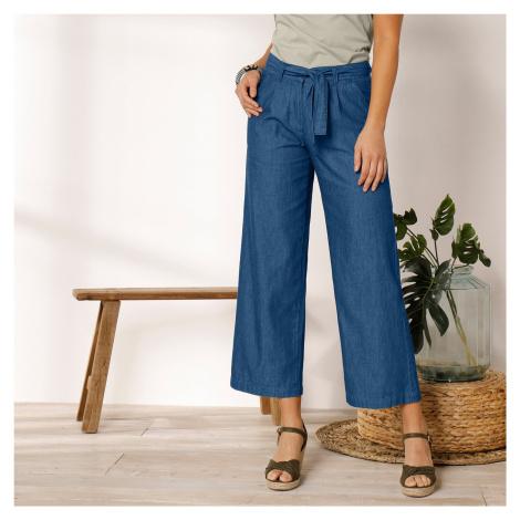Blancheporte Džínové široké kalhoty denim