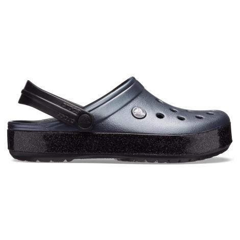 Crocs Crocband Printed Clog Metallic Black