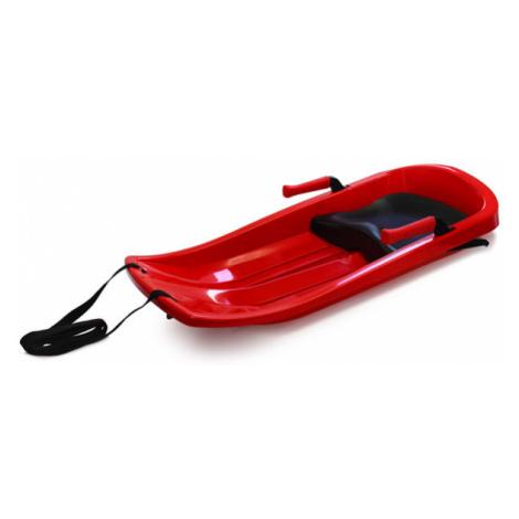 Plastkon Šampion (EXTREME) plastové boby s brzdami a sedátkem Barva: červená