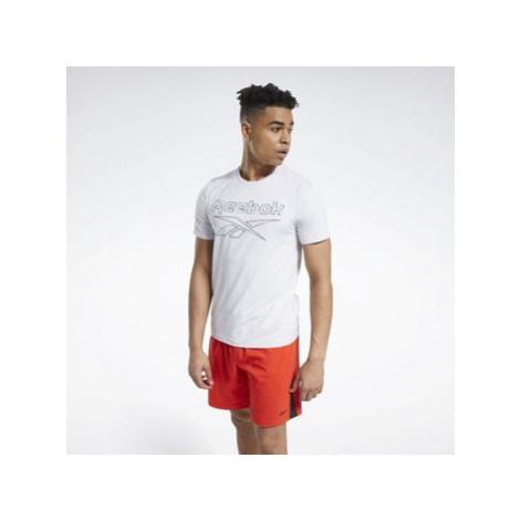 Reebok Sport Workout Ready ACTIVCHILL T-Shirt Bílá
