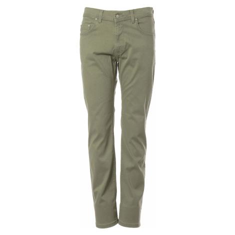 Kalhoty Pioneer Rando pánské tmavě béžové