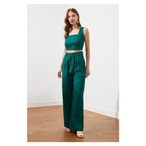 Trendyol Green Belt Pants