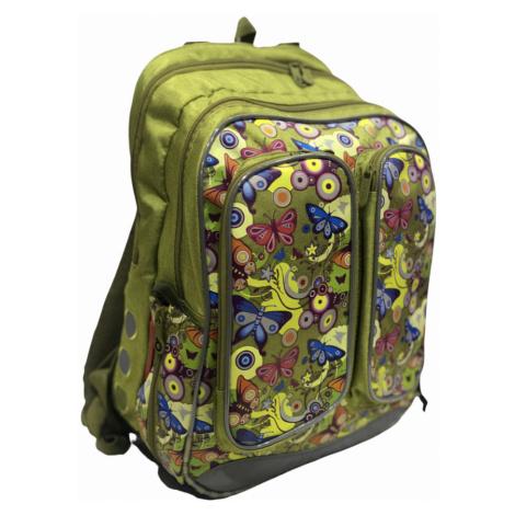 Topgal školní batoh pro holky s motýlkem