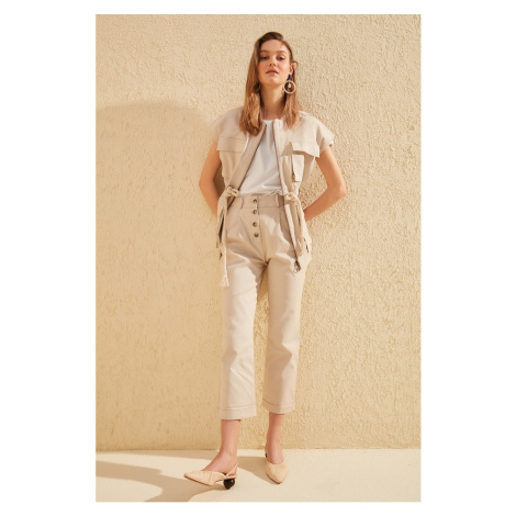Trendyol Stone Baggy Pants