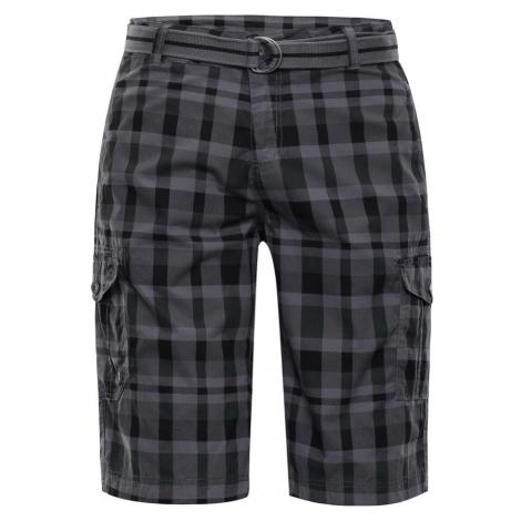 Pánské šortky Alpine Pro RODOLF 2 - šedo-černá
