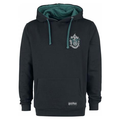 Harry Potter Slytherin Mikina s kapucí černá