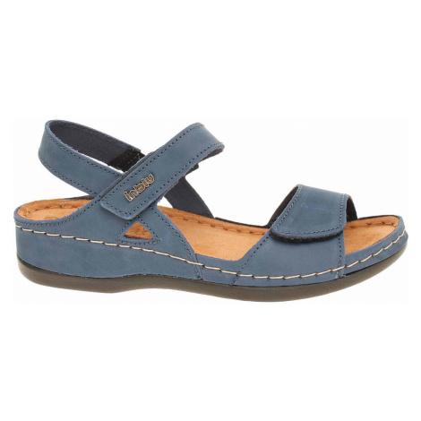 Inblu Dámské sandály 158D101 modrá Modrá