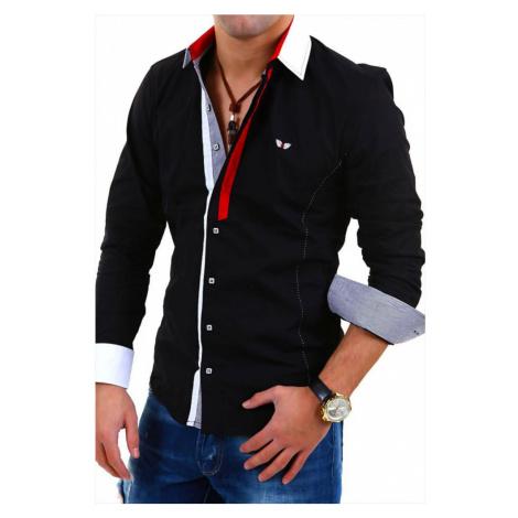 CARISMA košile pánská 8036 dlouhý rukáv slim fit