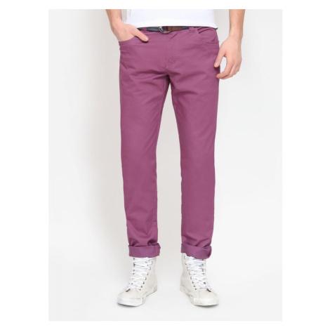 Top Secret Kalhoty pánské fialové poslední kus