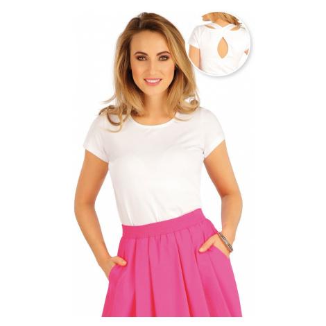 LITEX Tričko dámské s krátkým rukávem 5A382100 Bílá