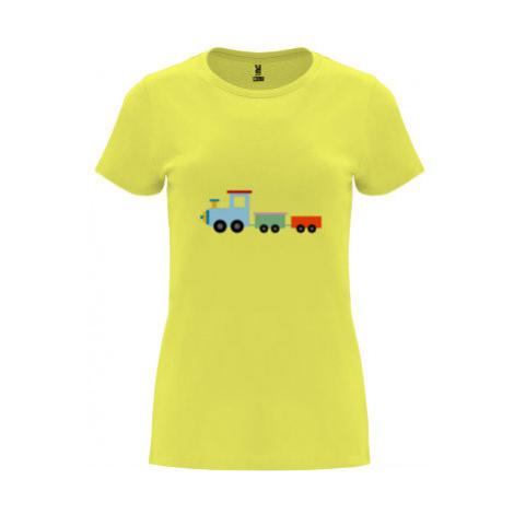 Dámské tričko Premium Kids train