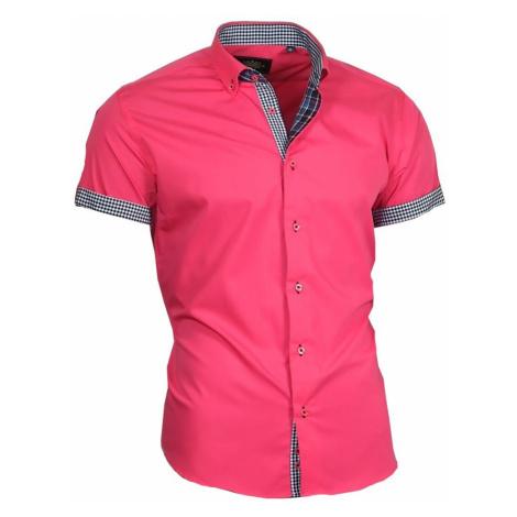 BINDER DE LUXE košile pánská 83304 krátký rukáv
