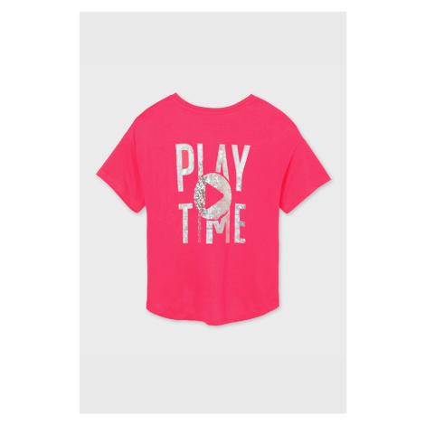 Dívčí tričko Mayoral Playtime růžové