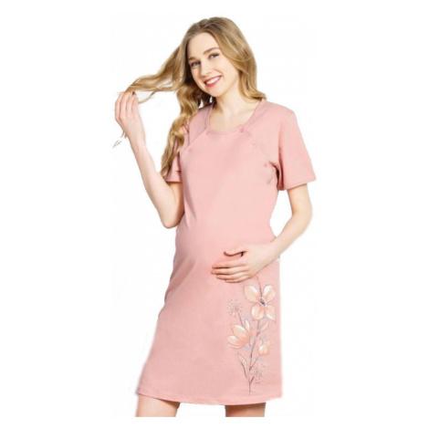 Dámská noční košile Vienetta Secret Kateřina mateřská | růžová