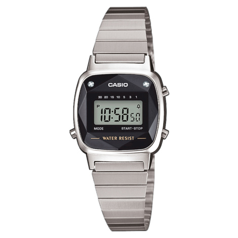 Casio LA 670WE-1EF stříbrné