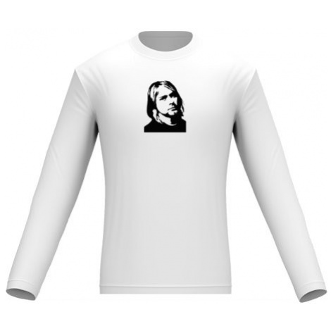 Pánské tričko dlouhý rukáv Kurt Cobain