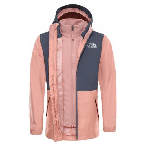 dětská bunda THE NORTH FACE Y Elian Triclimate, Pink Clay