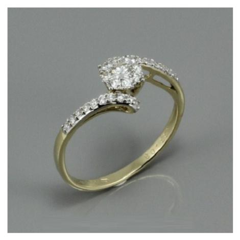 Diamantový prsten K2626