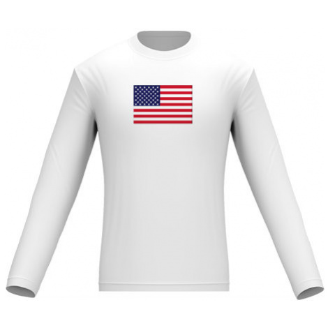 Pánské tričko dlouhý rukáv USA