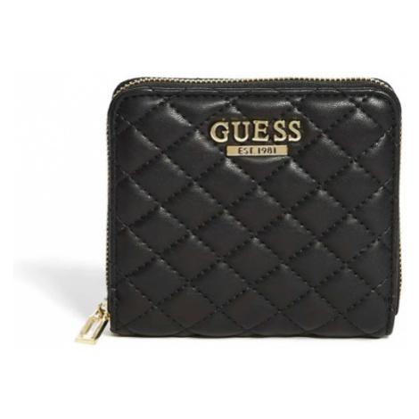 Peněženka Guess Kris Small Zip-Around černá