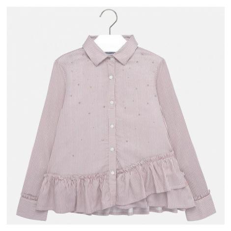 Dívčí slavnostní košile Mayoral 7107 | růžová