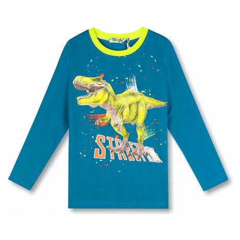 Chlapecké triko - KUGO HC0611, modrá tmavě