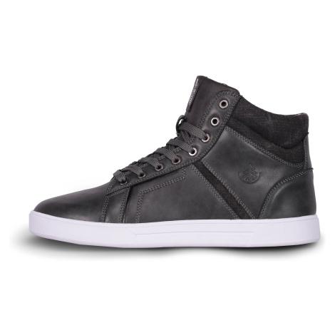 Nordblanc Gaze pánské kožené boty šedé