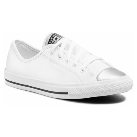 Tenisky CONVERSE - Ctas Danity Ox 570326C White/Pure Silver/Black