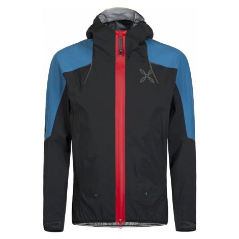 Pánská turistická bunda Montura Magic 2.0 Jacket Nero-Blu Ottanio