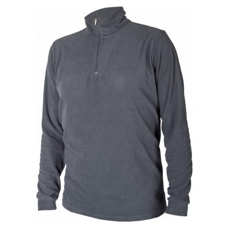 Brugi 4ALH pánská fleecová tenká mikina dlouhý rukáv Barva: 484 dark grey
