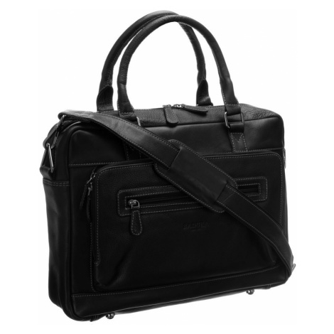 Pánská kožená taška na notebook 14 Badura