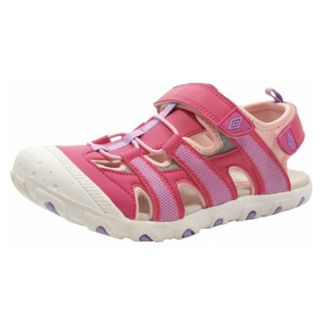 Umbro DEBORA růžová - Dětské sportovní sandály