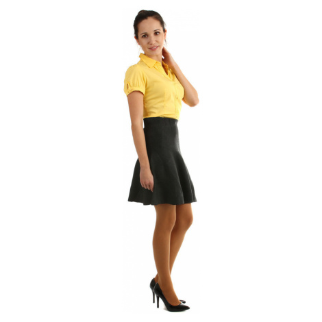 Dámská áčková úpletová krátká sukně