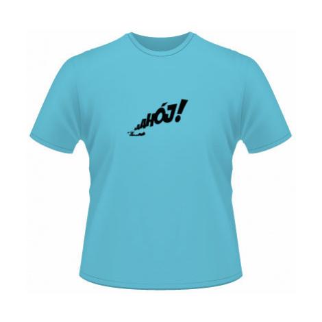 Pánské tričko SuperStar Ahój!