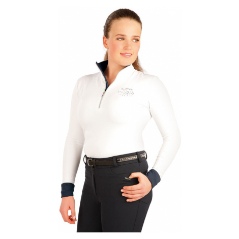 LITEX Triko dámské s dlouhým rukávem. J1114100 Bílá