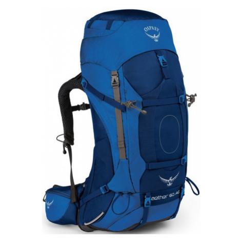 OSPREY AETHER AG 60 Outdoorový batoh OSP2103040702 neptune blue