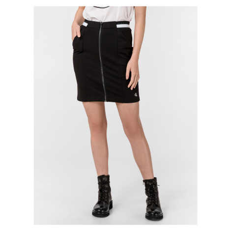 Milano Monochrome Sukně Calvin Klein Černá