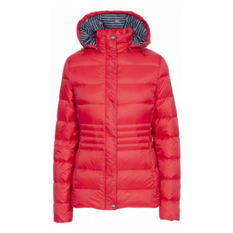 HAYLING Dámská péřová bunda FAJKDOTR0008-RED RED DLX