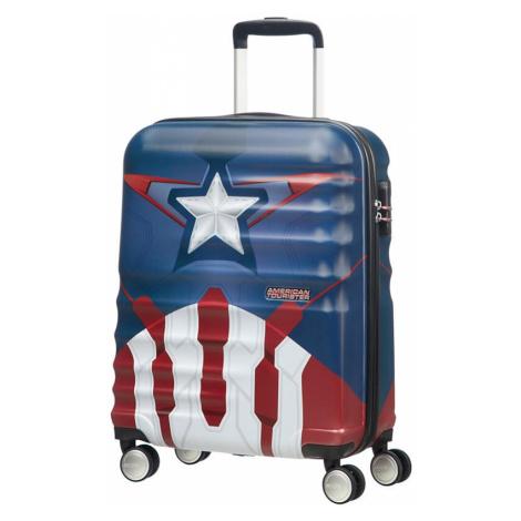 AT Dětský kufr Wavebreaker Disney Spinner 55/20 Cabin Captain America, 40 x 20 x 55 (85668/6979) American Tourister