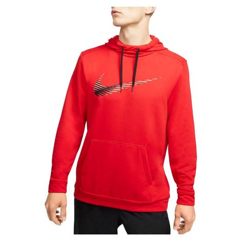 Mikina Nike Dri-FIT Červená / Černá